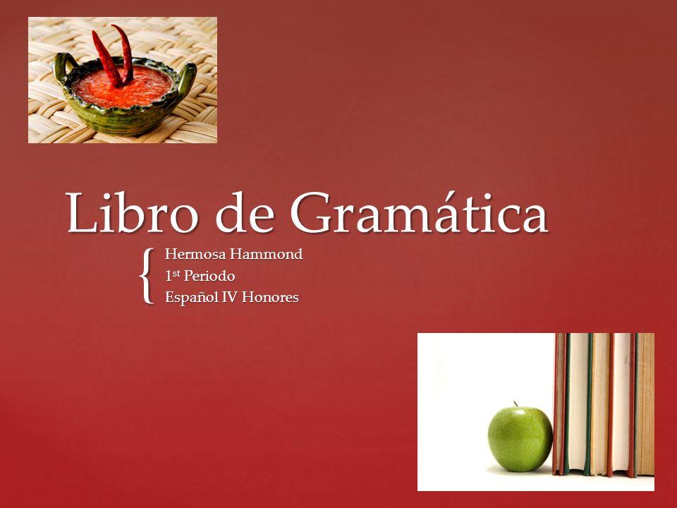 Hermosa Hammond 1st Periodo Español IV Honores