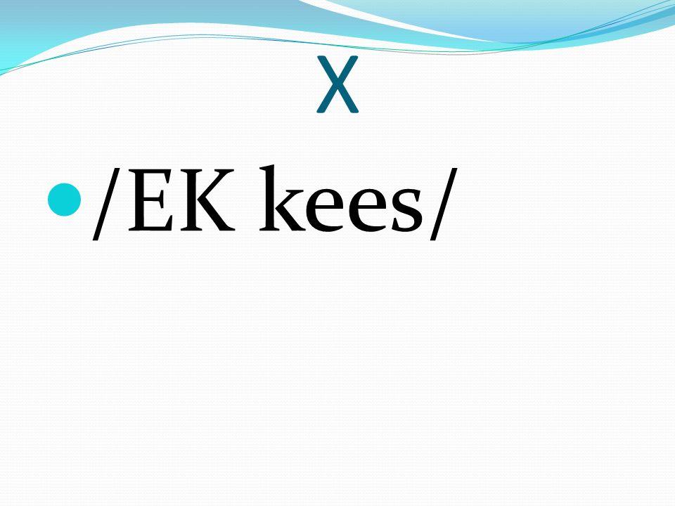 X /EK kees/
