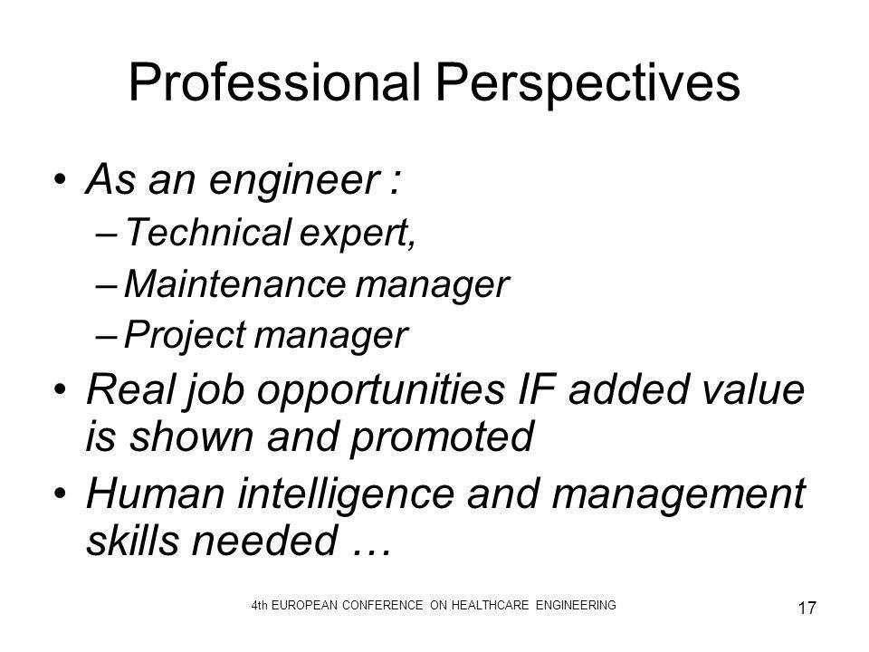 Professional Perspectives