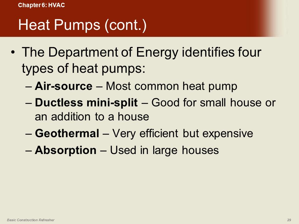 Chapter 6 Hvac Basic Construction Refresher Ppt Video