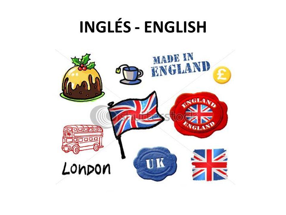 1 INGLÉS - ENGLISH