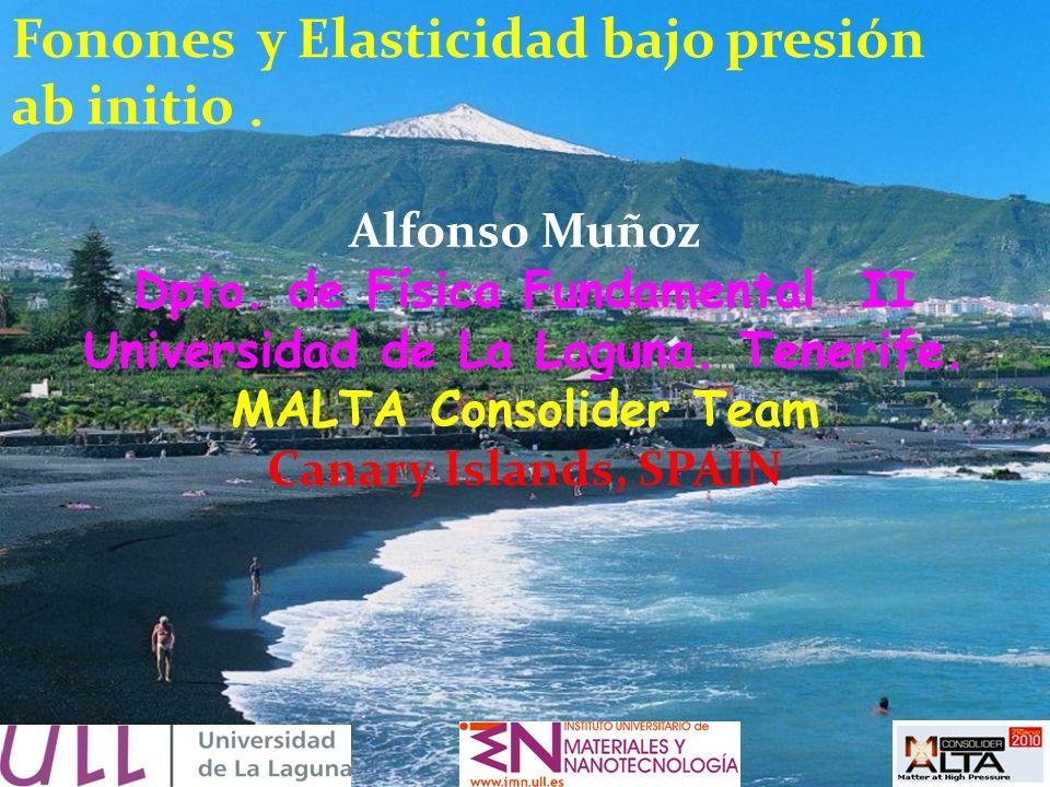 Dpto. de Física Fundamental II Universidad de La Laguna. Tenerife.