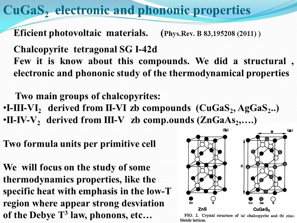 CuGaS2 electronic and phononic properties