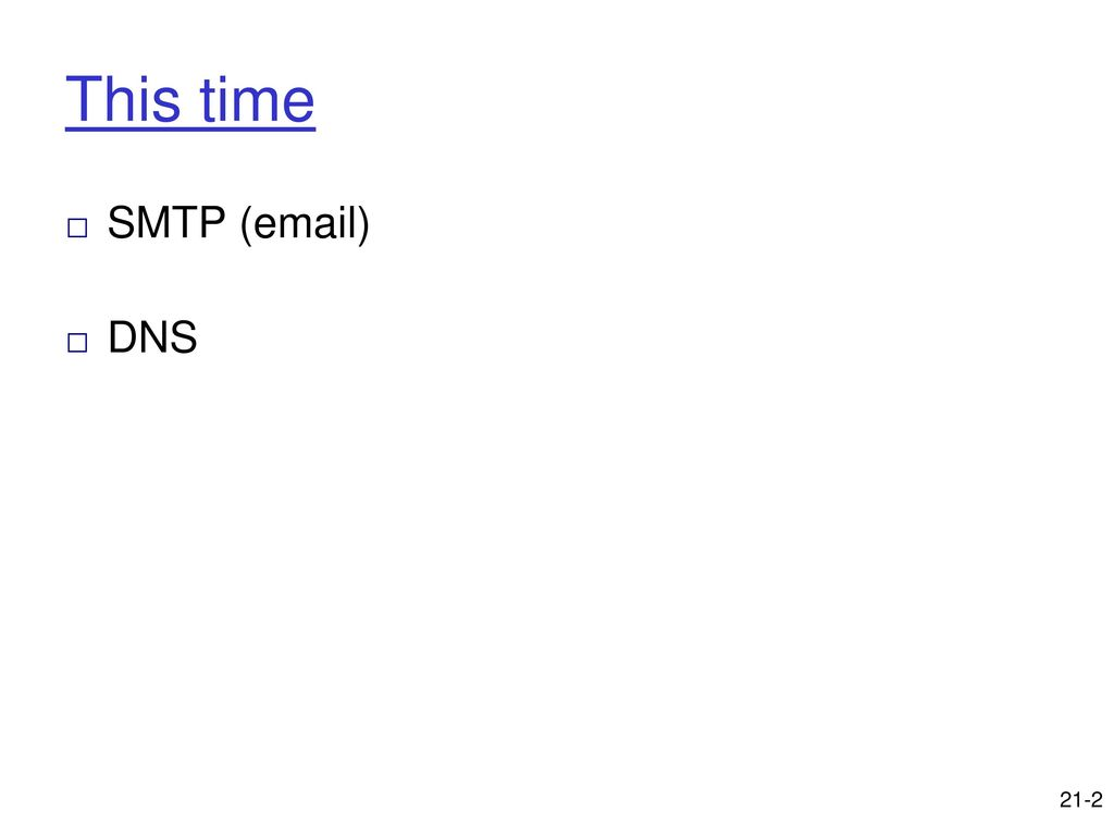 Last time finish http ftp ppt download 2 this time smtp kristyandbryce Images