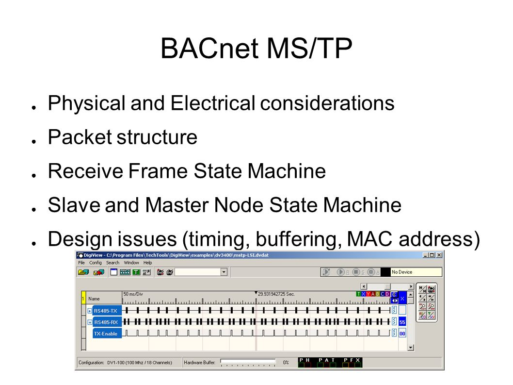 bacnet ms tp physical and electrical considerations packet structure rh slideplayer com