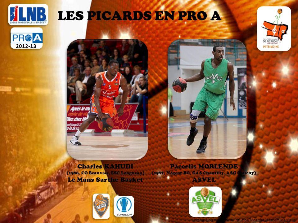 LES PICARDS EN PRO A Charles KAHUDI Le Mans Sarthe Basket