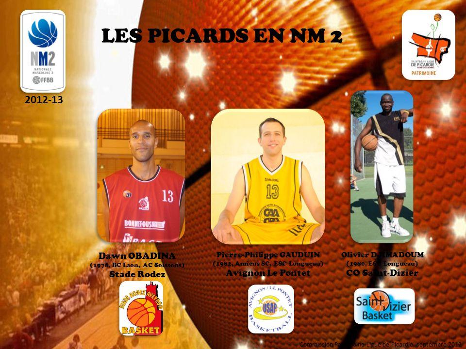 LES PICARDS EN NM 2 2012-13 Dawn OBADINA Stade Rodez Avignon Le Pontet