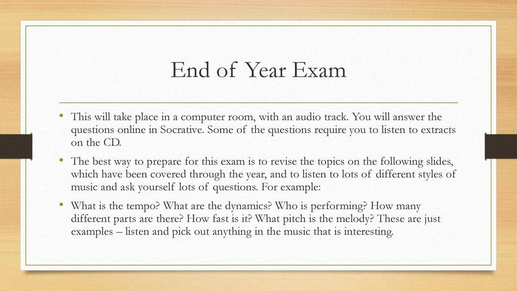 end exam image