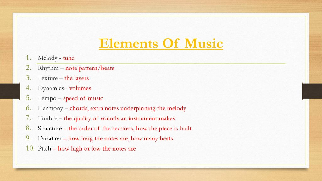 how to write a fast tempo piece of music