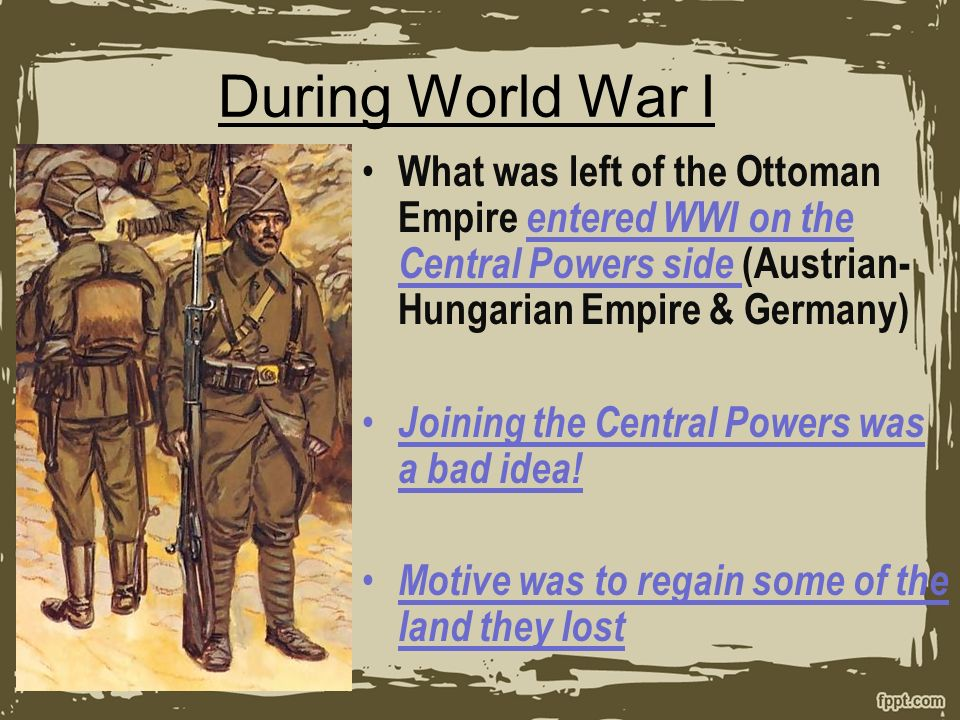 causes for the central powers losing Learn how the political alliances of europe led to the start of world war i with this overview of the years leading the central powers causes of world war i.