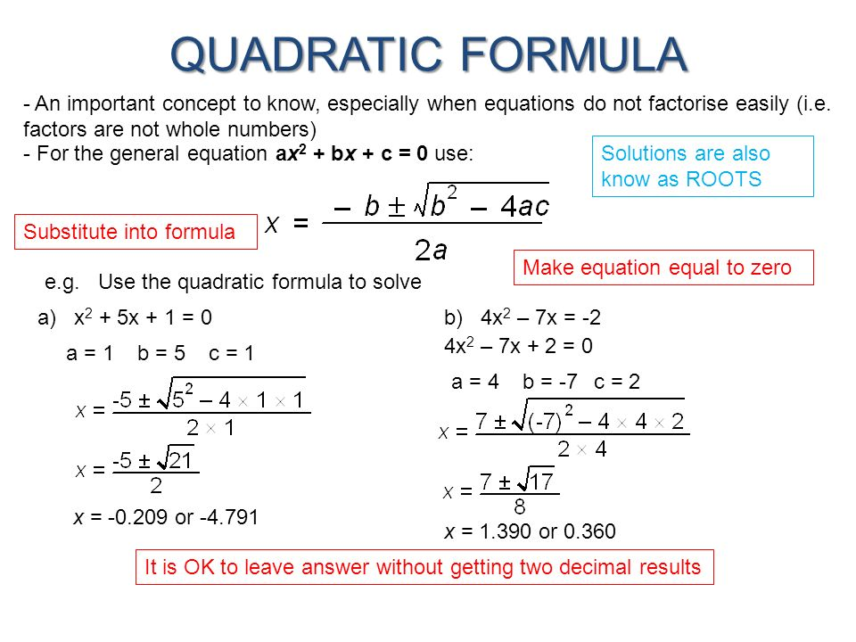 nature of the roots of a quadratic equation pdf