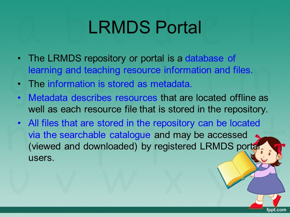 Learning Resources Management And Development System Ppt