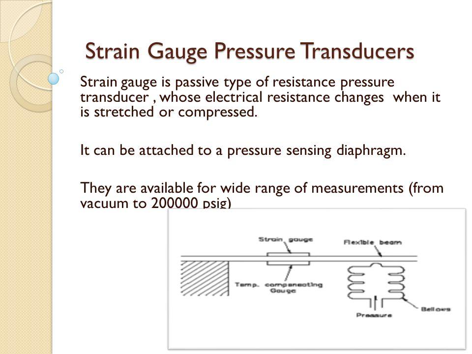 types of strain gauges pdf