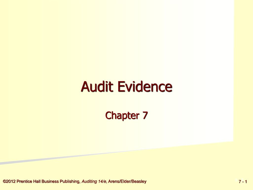 auditing chapter 7 evidence Chapter 7 audit evidence questions auditing chapter 7 proprofs quiz, auditing chapter 7 51 questions physical examination is usually the least expensive type of audit.