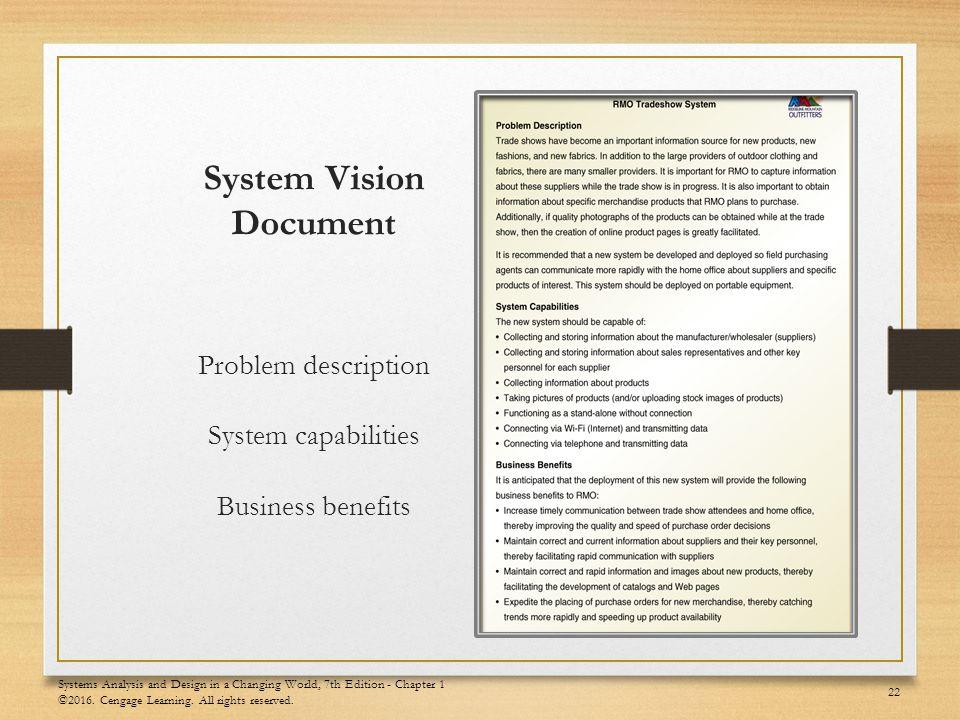 System Analysis And Design Documentation
