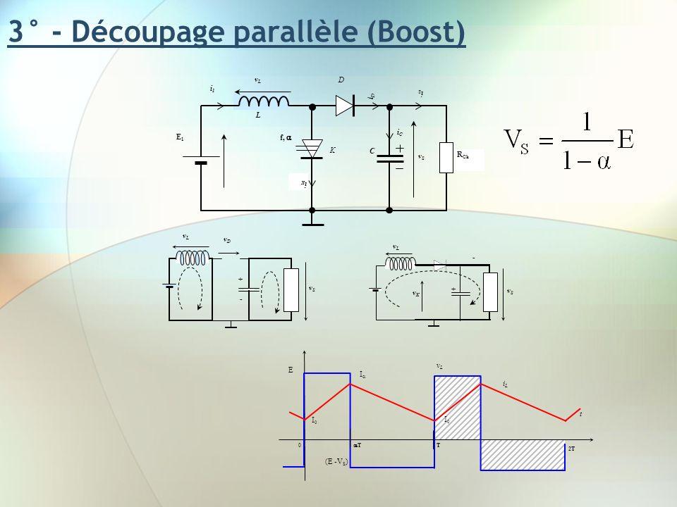3° - Découpage parallèle (Boost)