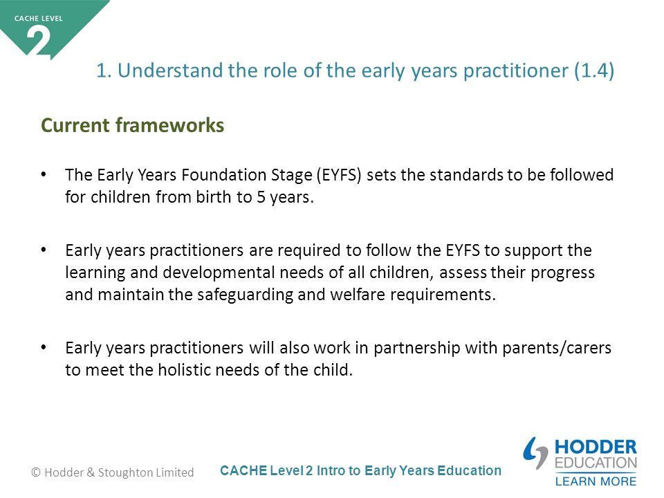 role of the early years practitioner in learning Finally, a special word of thanks to the early years interboard panel and  plan,  design and engage in stimulating role play, which encourages them to play.