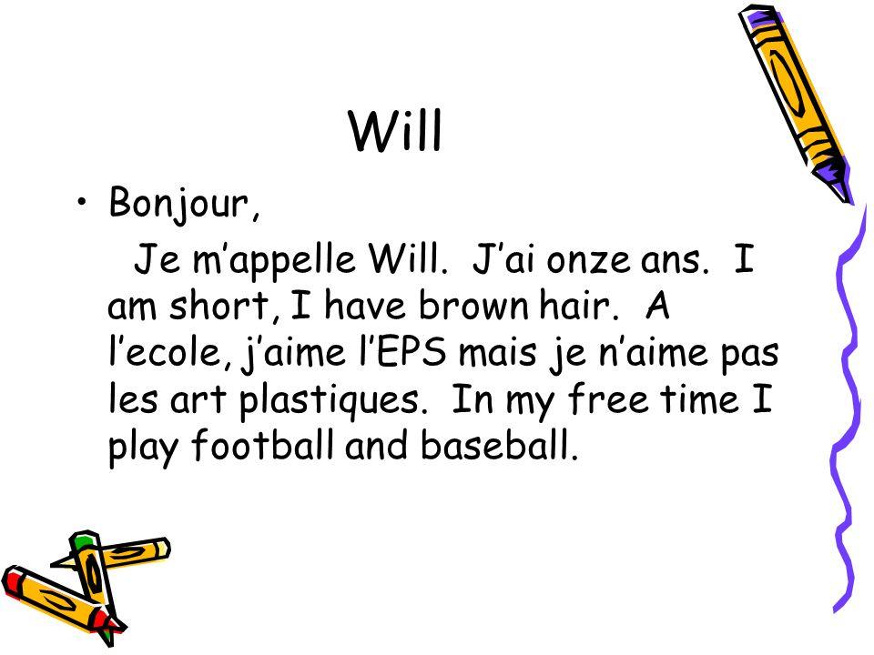 Will Bonjour,