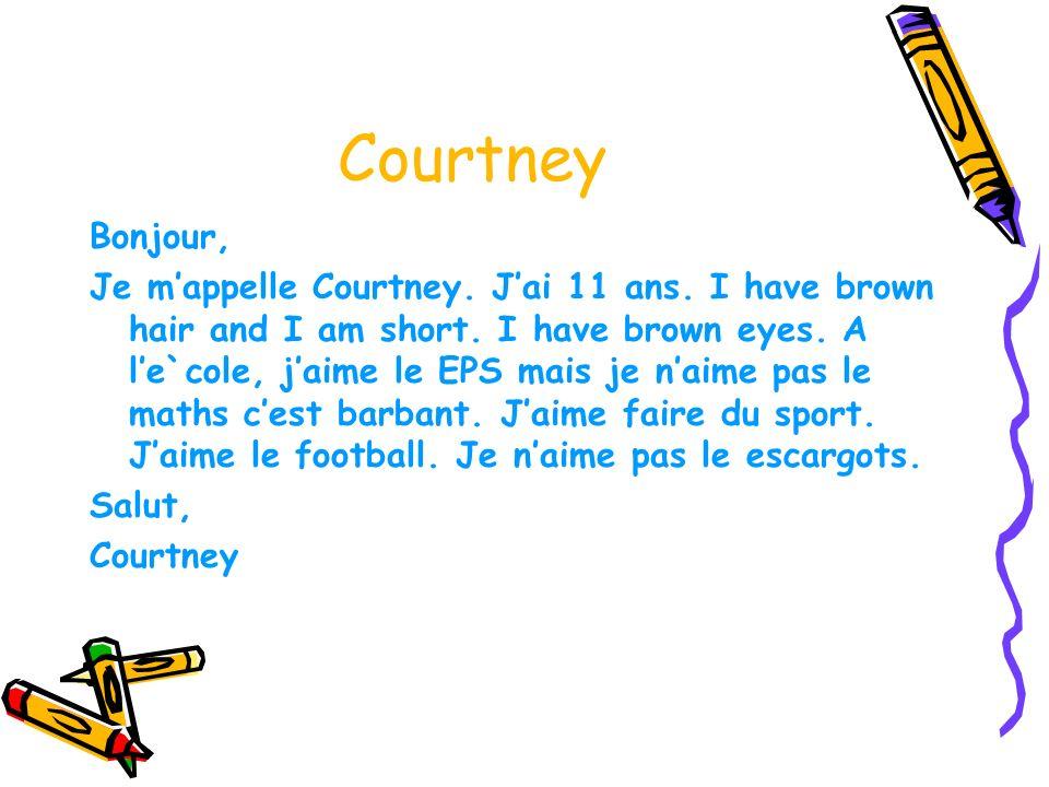 Courtney Bonjour,