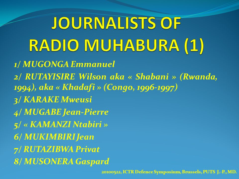 JOURNALISTS OF RADIO MUHABURA (1)