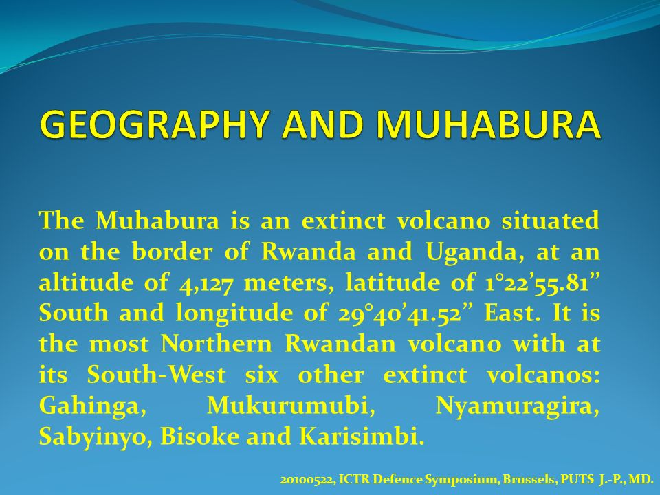 GEOGRAPHY AND MUHABURA