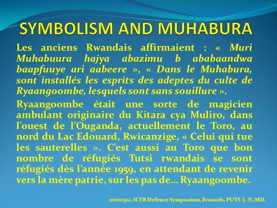 SYMBOLISM AND MUHABURA