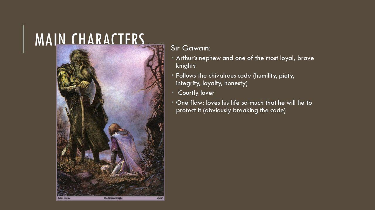 sir gawain and the green knight summary pdf