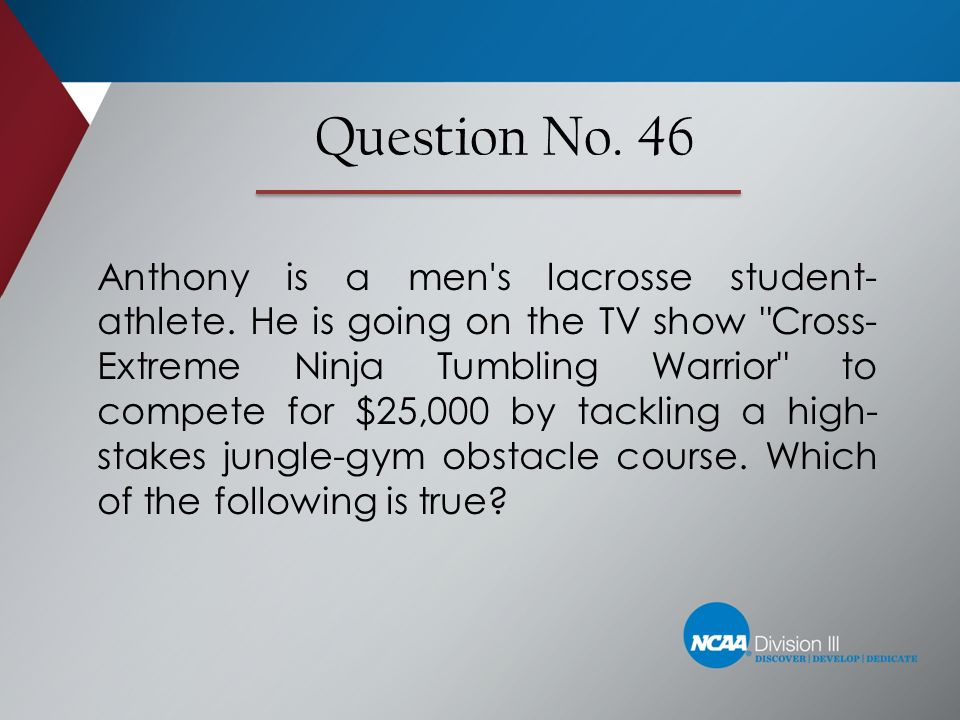 Question No. 46
