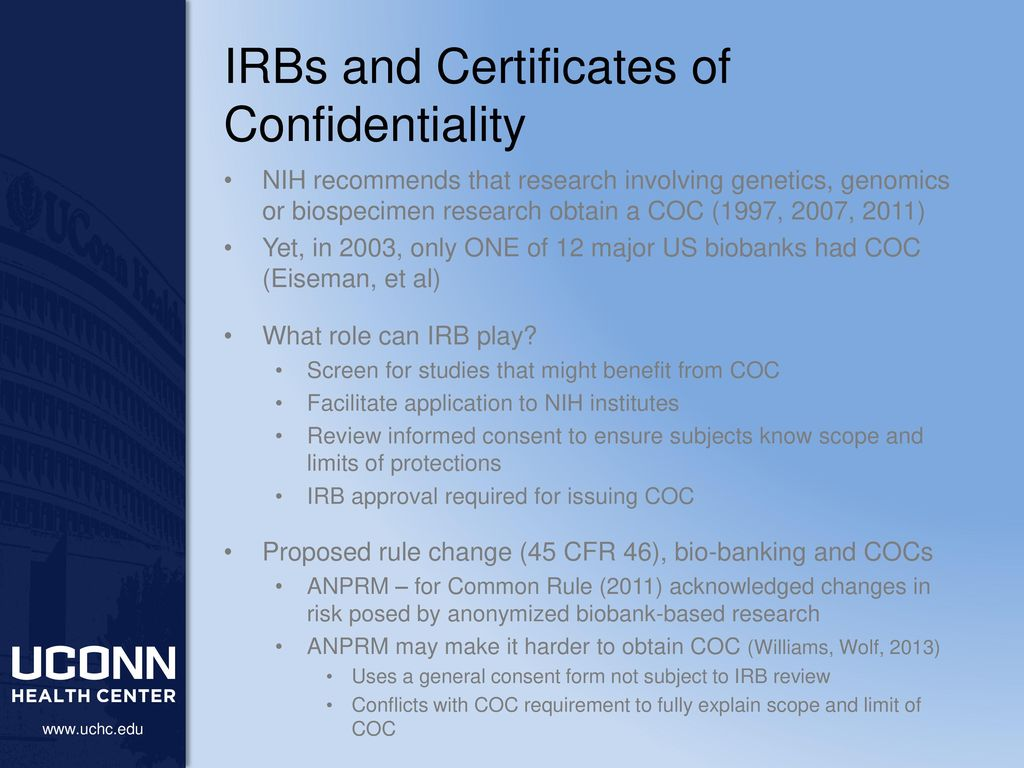 Nothing certificates of confidentiality uses and limitations as irbs and certificates of confidentiality xflitez Image collections