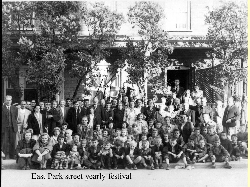 East Park street yearly festival