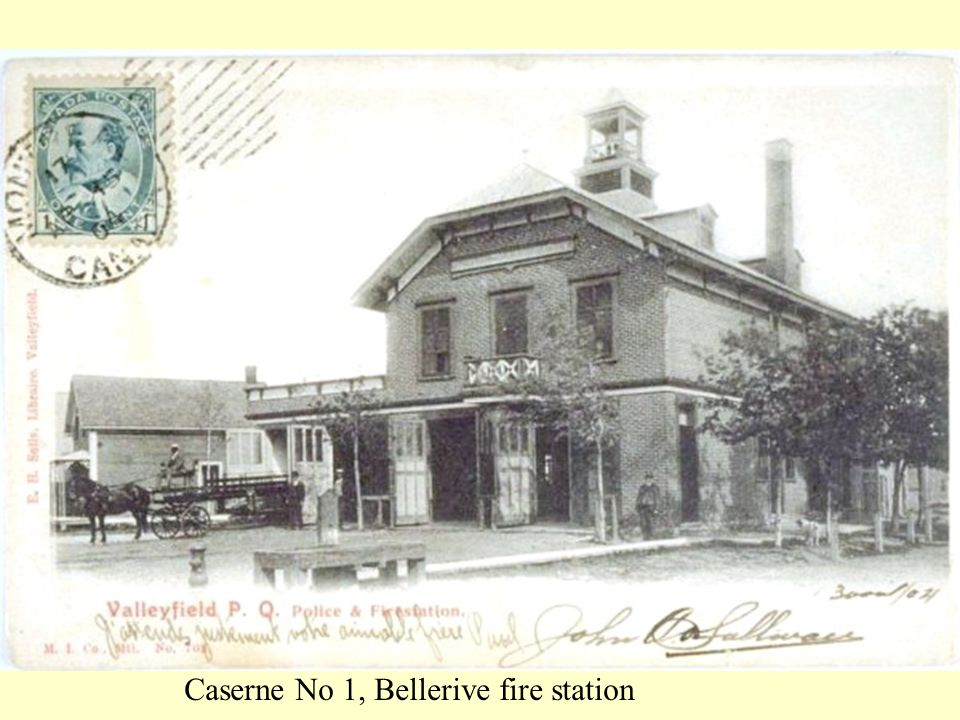 Caserne No 1, Bellerive fire station