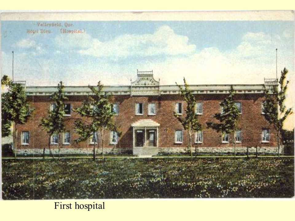 First hospital
