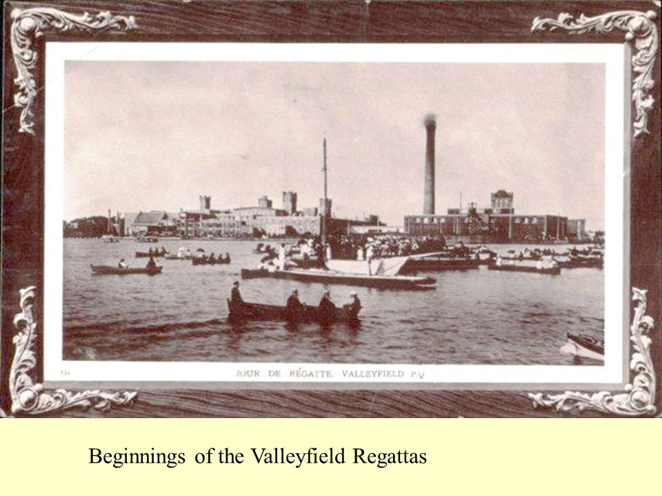Beginnings of the Valleyfield Regattas