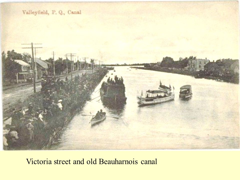 Victoria street and old Beauharnois canal