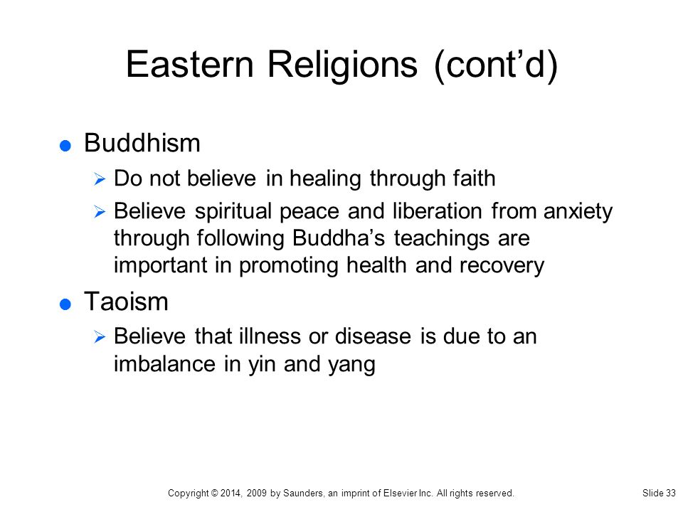 Evaluating Eastern Religions