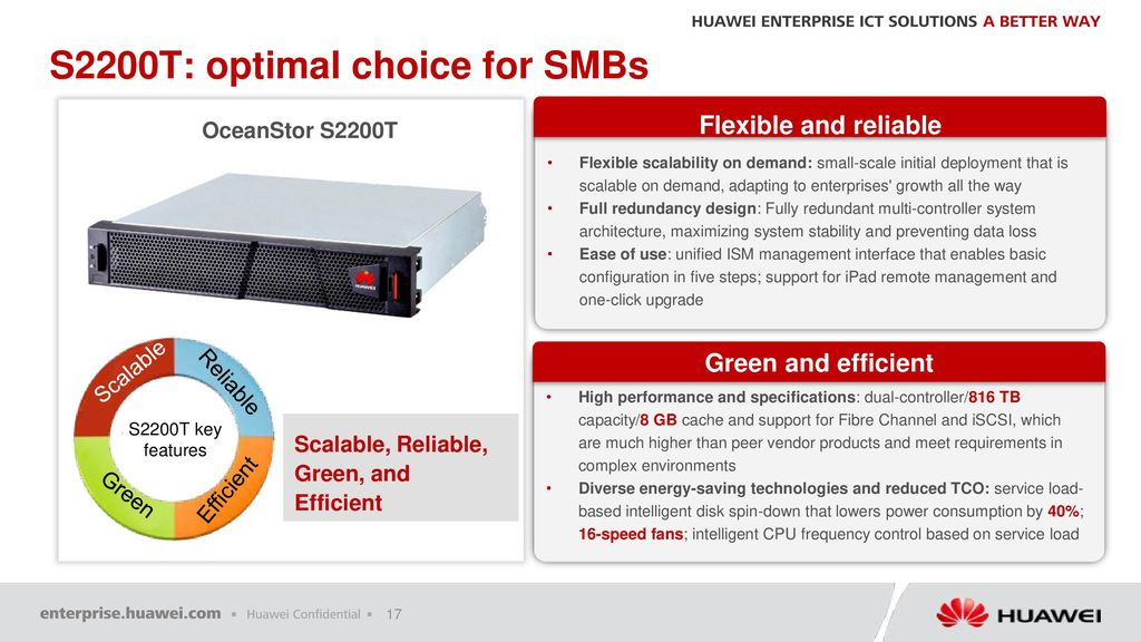 Huawei OceanStor S2200T Pre-sales Specialist Training ...