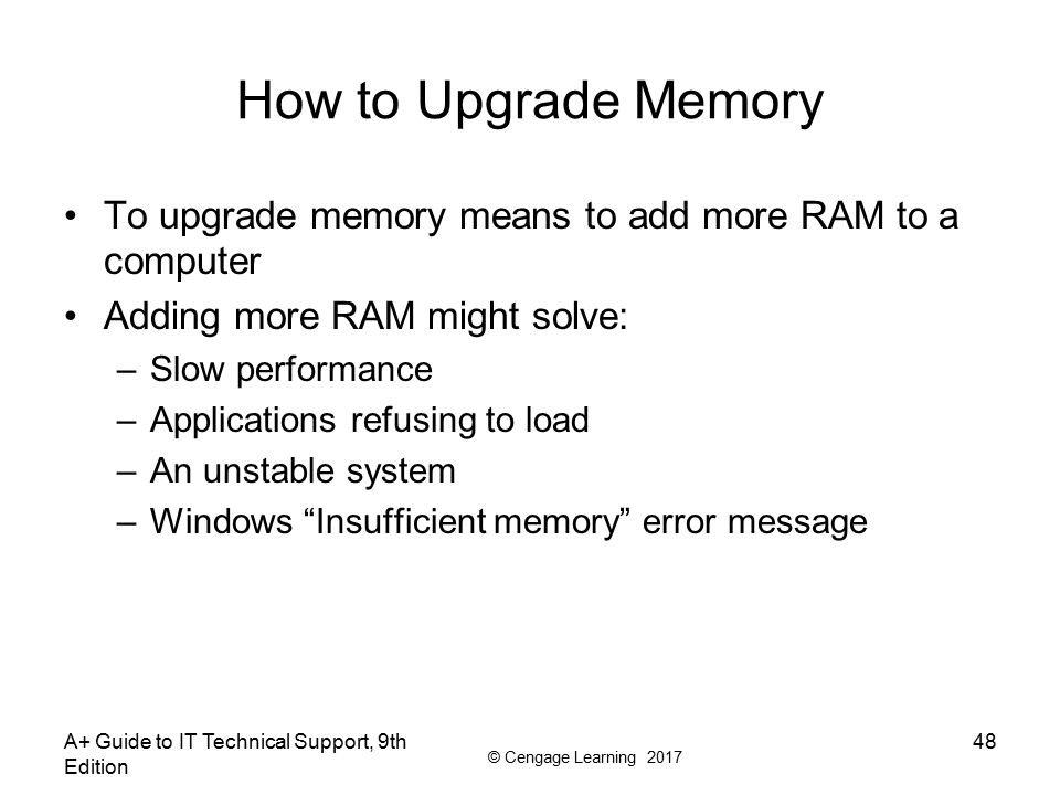 ram computer how to get more