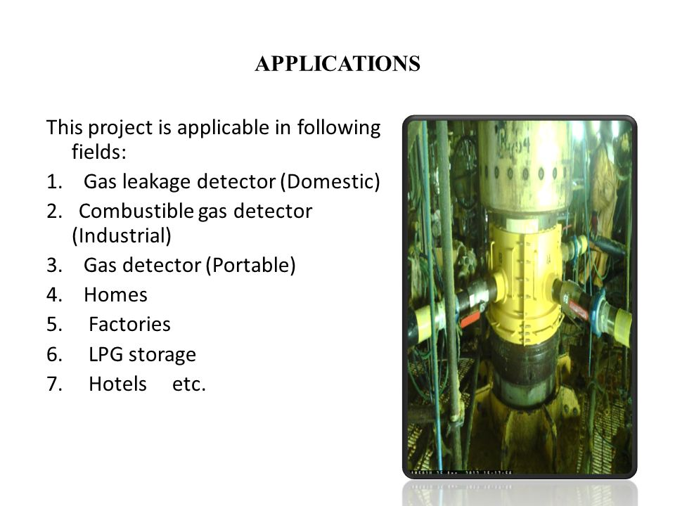 PROJECT PRESENTATION ON GSM BASED GAS LEAKAGE DETECTION ...
