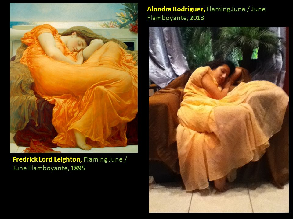 Alondra Rodriguez, Flaming June / June Flamboyante, 2013