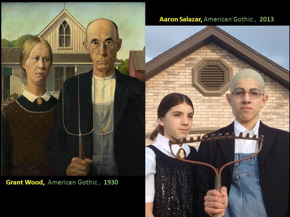 Aaron Salazar, American Gothic , 2013