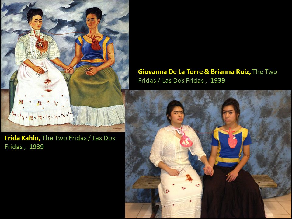 Giovanna De La Torre & Brianna Ruiz, The Two Fridas / Las Dos Fridas , 1939