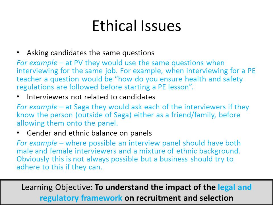 Ethical recruitment brings success