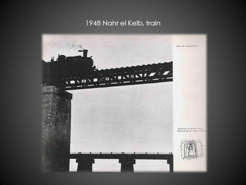 1948 Nahr el Kelb, train