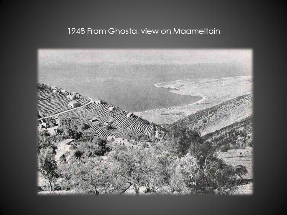 1948 From Ghosta, view on Maameltain