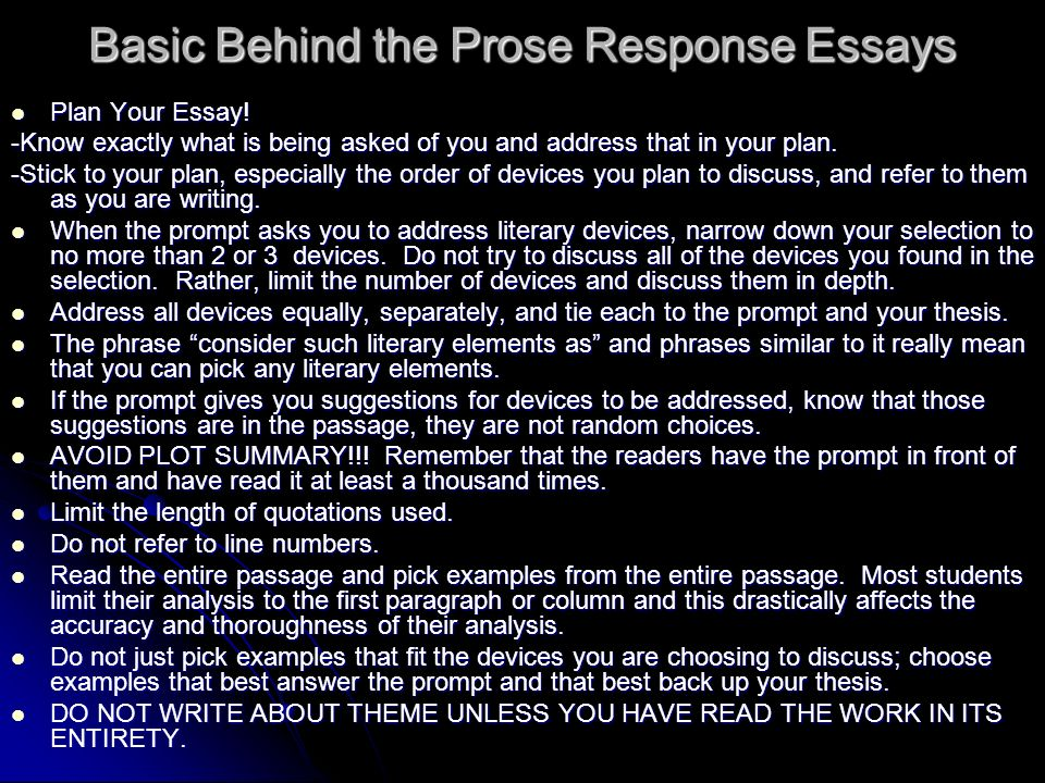 random passage essays If getting started is the hardest part of the writing process, close behind it (and closely related to it) may be the challenge of finding a good topic to write about of course, sometimes an instructor will solve that problem for you by assigning a topic but at other times you'll have the.