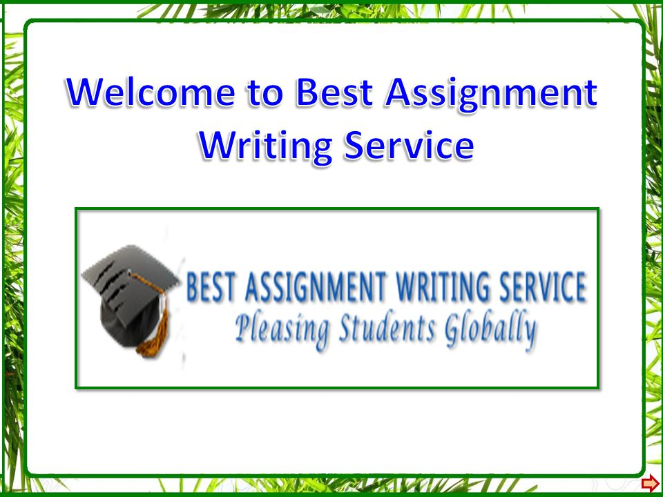 We Offer Professional Assignment Help Service Through Artistic Writers
