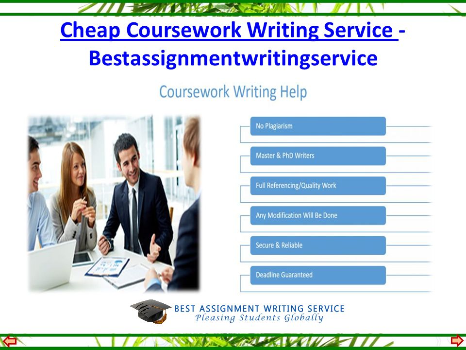 Coursework Writing Service Available 24/7