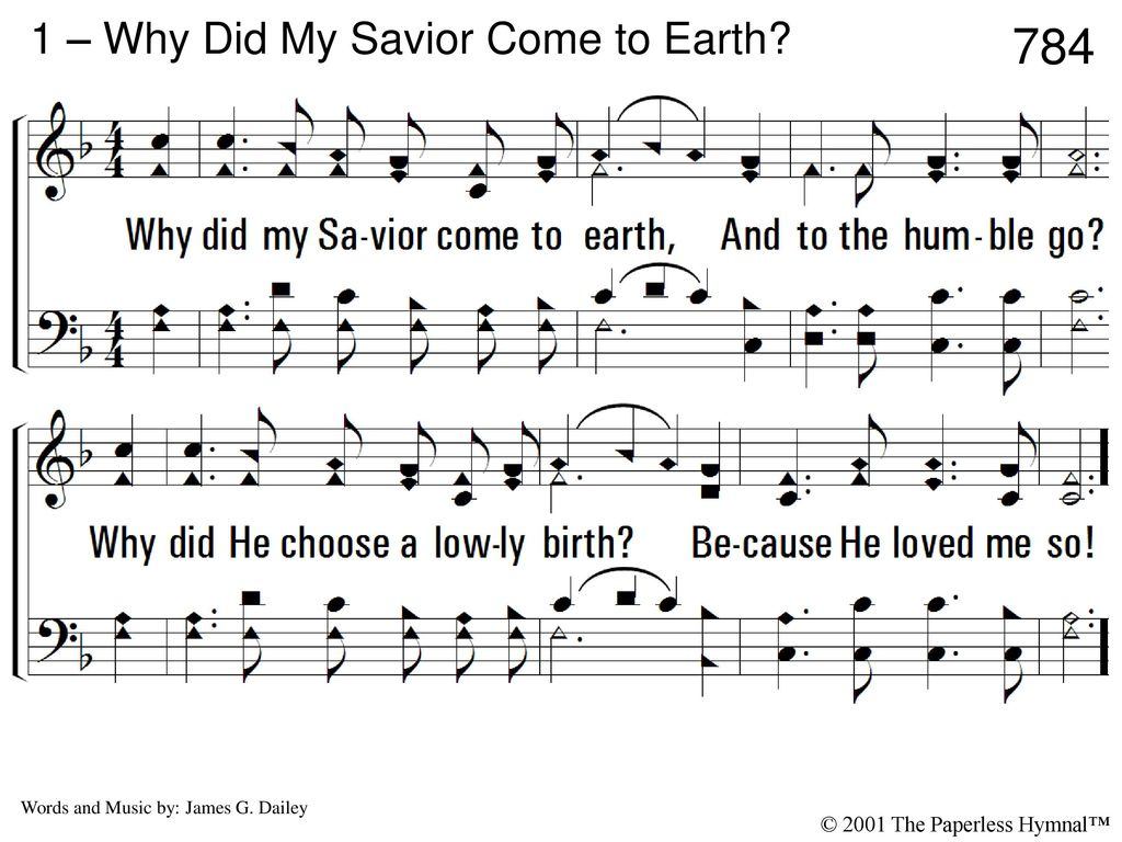 1 Why Did My Savior Come To Earth Ppt Video Online Download