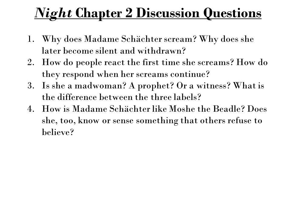 night by elie wiesel pdf chapter 1