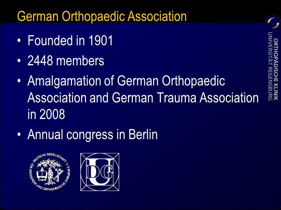 German Orthopaedic Association